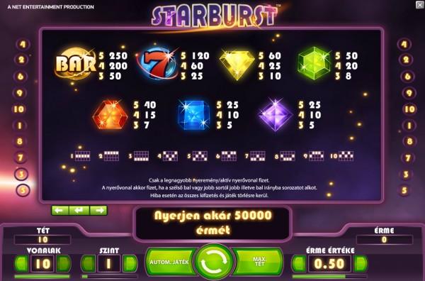 Starburst Bet365